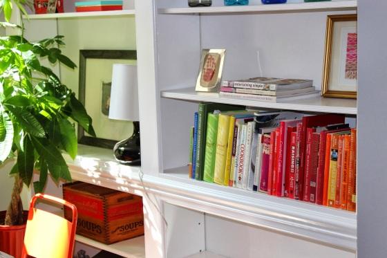 Bookshelf after - 2