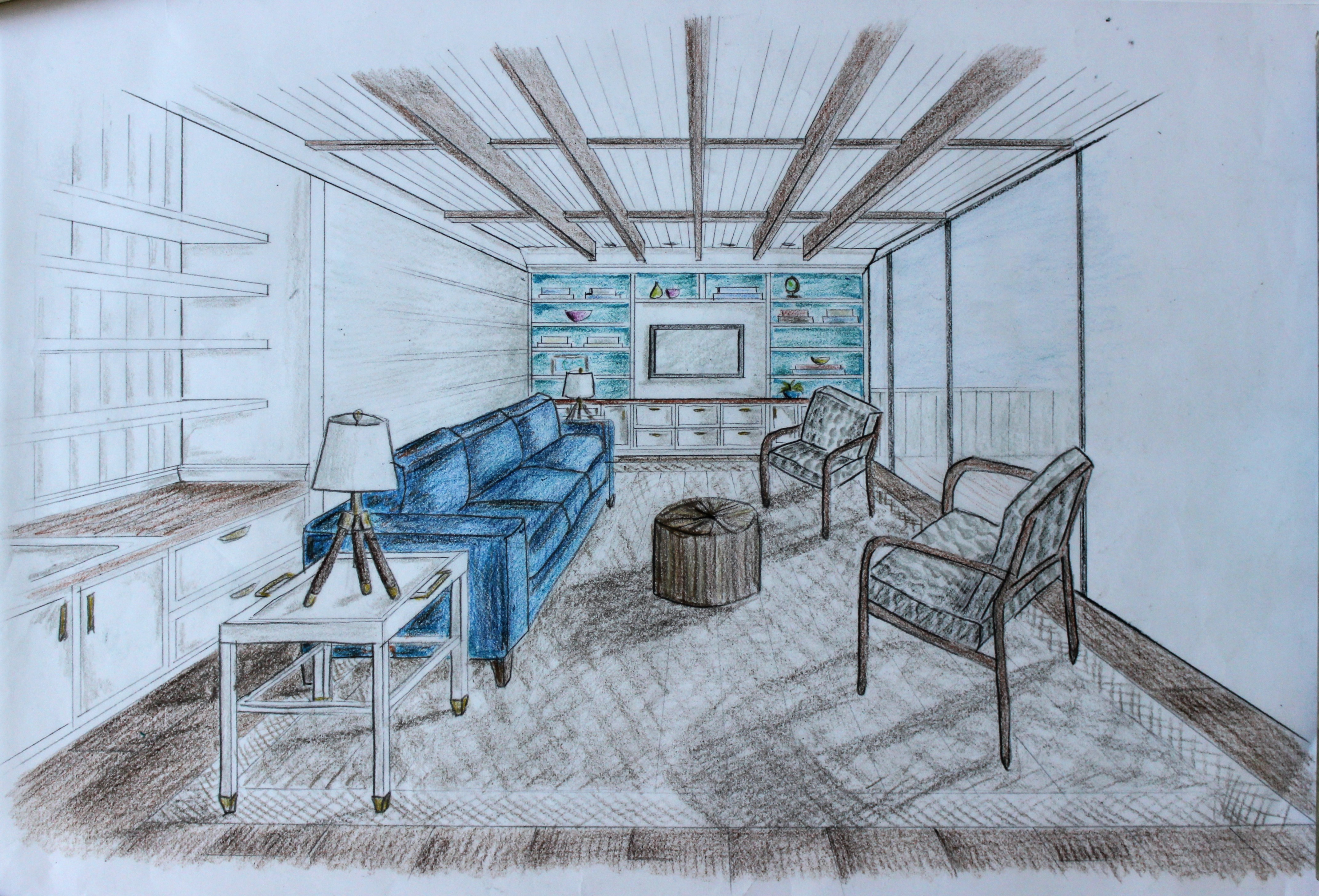 sketching | Hicks & Henry