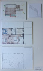 Site Plan + Floor Plan, 2nd Fl.
