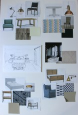 Bedrooms + Office Materials