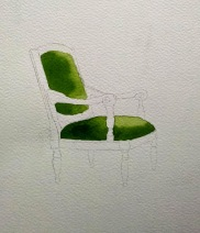 Green Chair shell