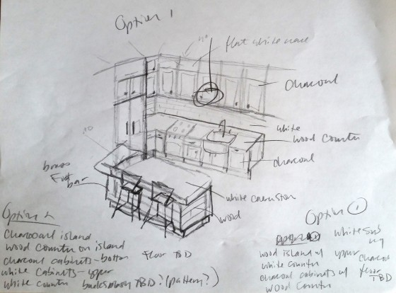 Kitchen Sketch 1